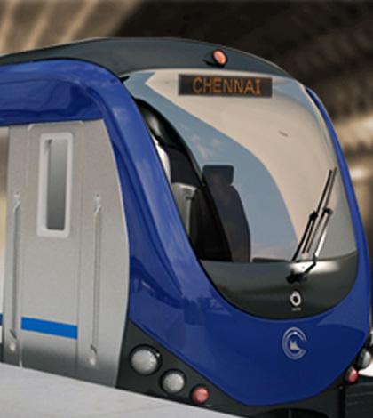 train Chennai Metro rail launched by CM J Jayalalithaa on Monday