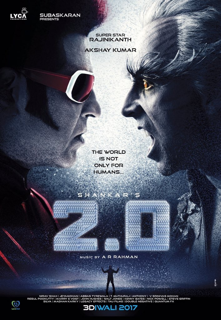 Endhiran 2.0 poster