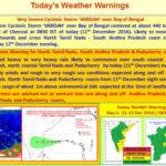 IMD Vardha Warning