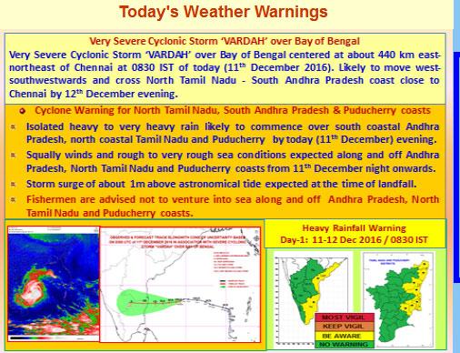 imd-warning-vardah Cyclone Vardah to bring Rain, Strong Winds to Chennai
