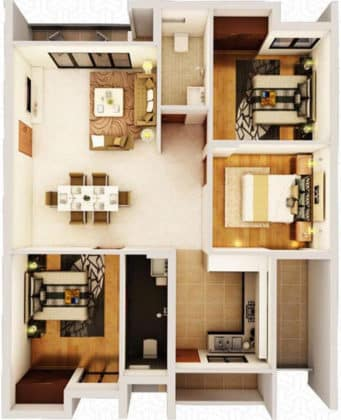 323952-341x420 New Apartments Flats in Velachery for Sale