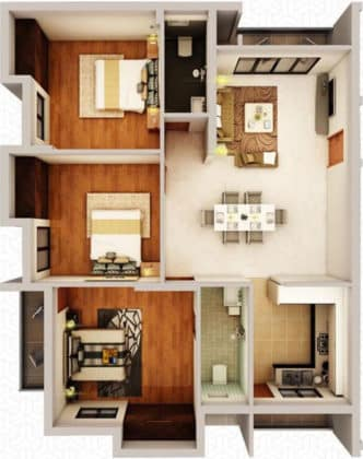 323954-332x420 New Apartments Flats in Velachery for Sale