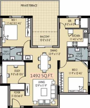 golden-square-floor-plan-floor-plan-915754-353x420 New Apartments Flats in Velachery for Sale