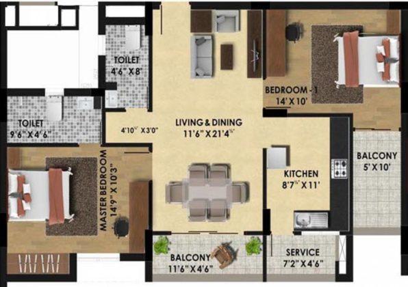pine-ridge-floor-plan-floor-plan-3928950-596x420 New Apartments Flats in Velachery for Sale
