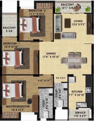 pine-ridge-floor-plan-floor-plan-3928953-326x420 New Apartments Flats in Velachery for Sale
