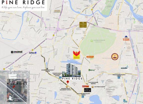 pine-ridge-location-plan-3933255-574x420 New Apartments Flats in Velachery for Sale