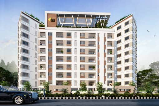 tuxedo-elevation-3127202 New Apartments Flats in Velachery for Sale
