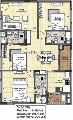 tuxedo-floor-plan-floor-plan-4570410-257x420 New Apartments Flats in Velachery for Sale