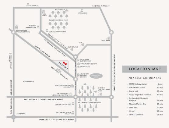tuxedo-location-plan-4371931-555x420 New Apartments Flats in Velachery for Sale