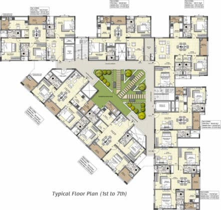 tuxedo-tuxedo-cluster-plan-from-1st-to-9th-floor-3127329-442x420 New Apartments Flats in Velachery for Sale
