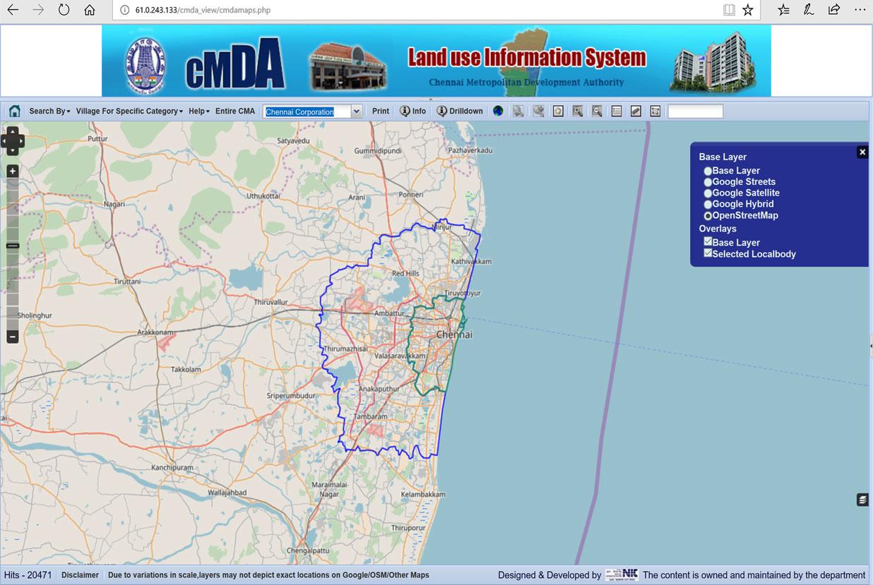 CMDA CMDA Landuse Information System