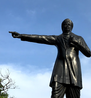 bhrathiyar History of Statues in Chennai