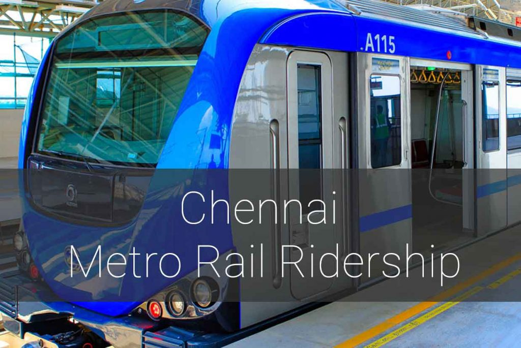 cmrl-ridership-1024x685 Improving Chennai Metro Rail Phase 1 Ridership