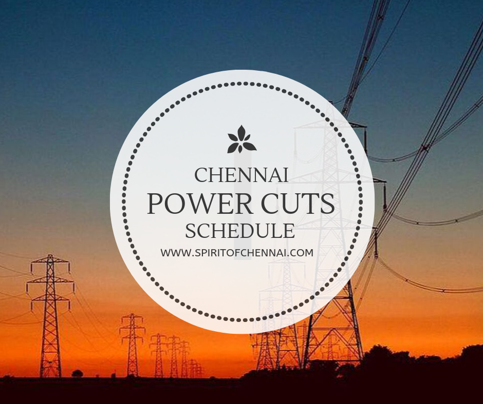 Power Cut Today and Tomorrow in Chennai