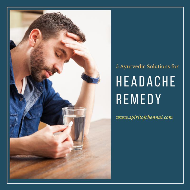Home Treatment for Headache in Chennai