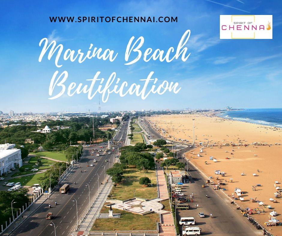 Marina Beach Beautification