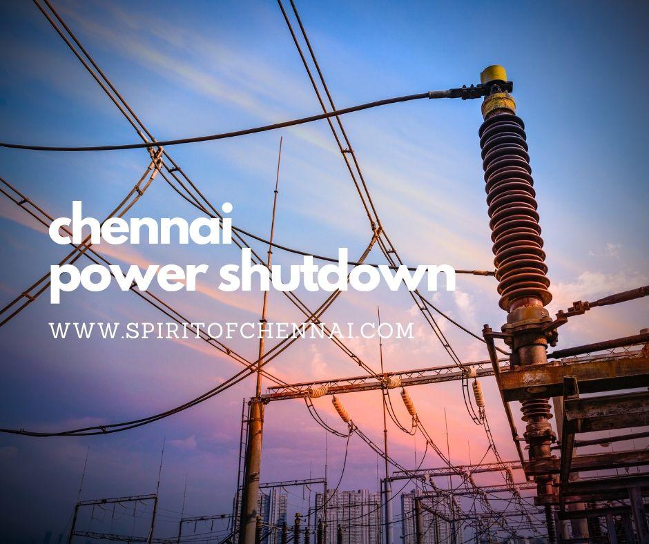 Chennai Power Shutdown