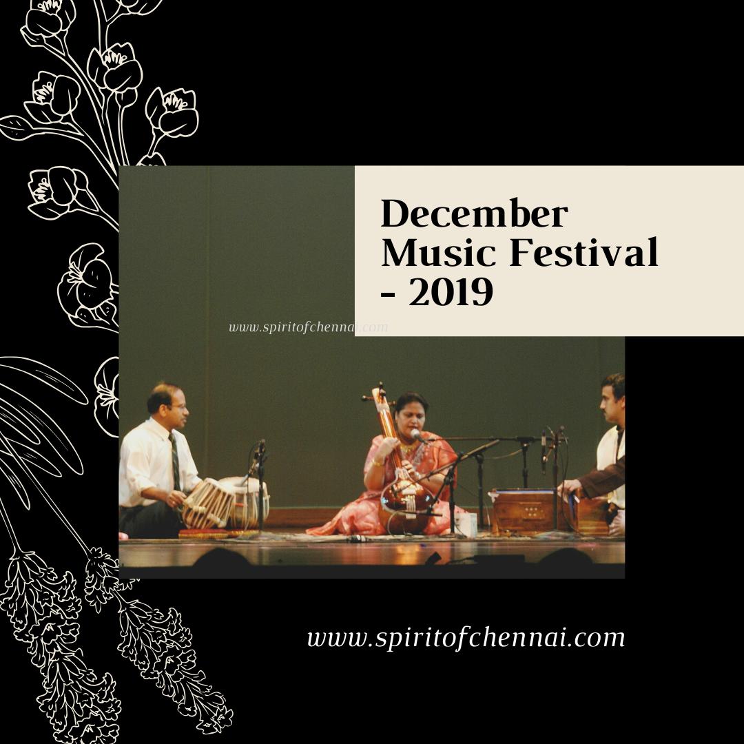 December Music Festival - Rasika Ranjani Sabha
