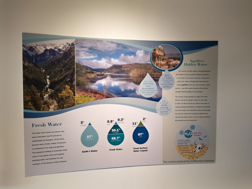 Fresh Water - Water Maters Exhibition