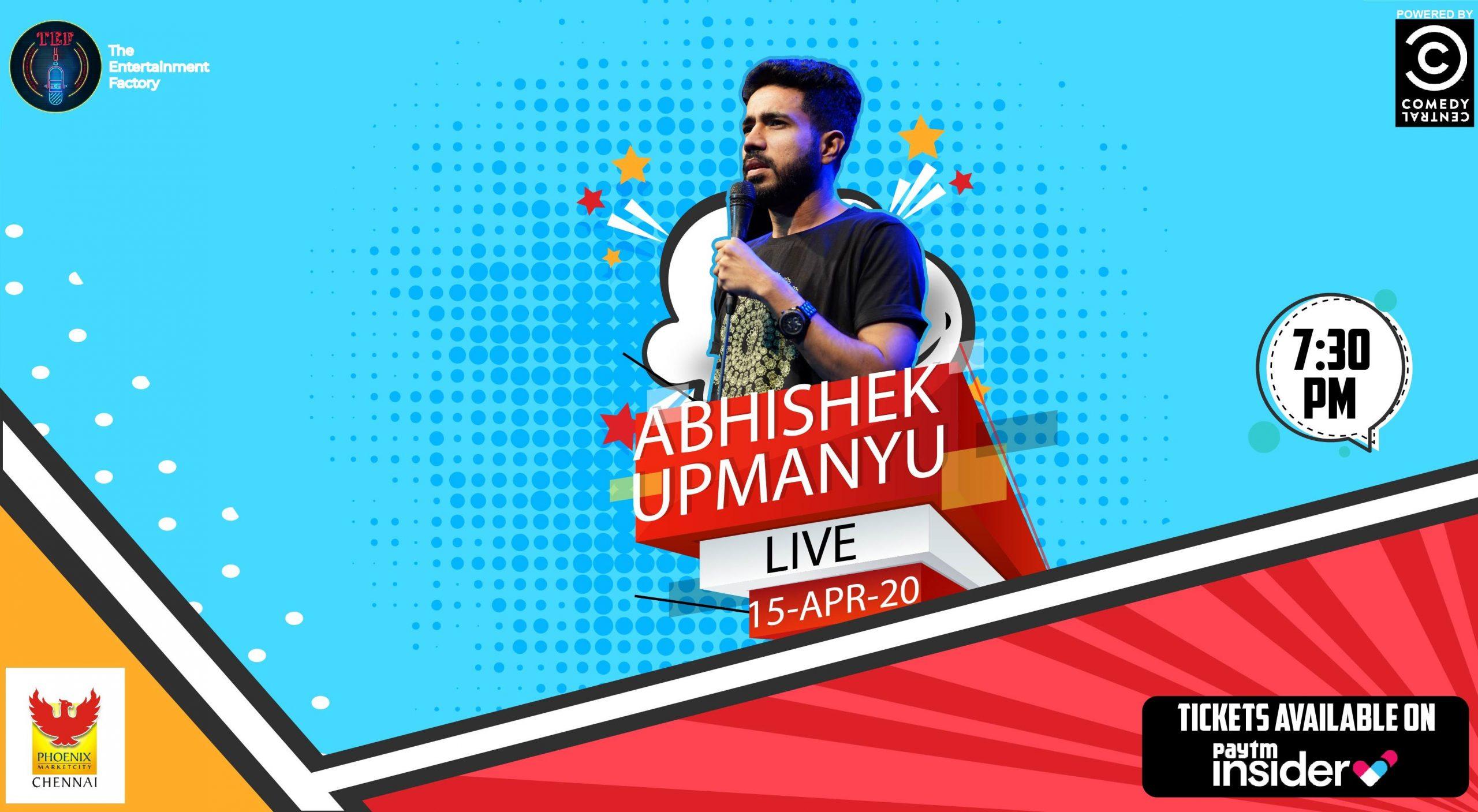 Abhishek Upmanyu Chennai