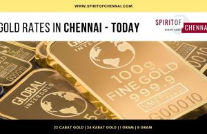 Gold Rate in Chennai Today
